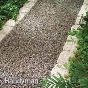 Planning a Backyard Path: Gravel Paths - Step by Step | The Family Handyman