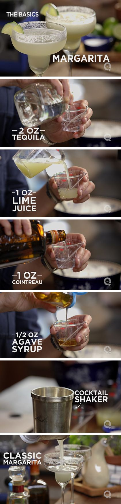 Make it a classic! Enjoy a refreshing margarita with this simple method.