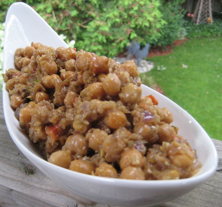 Bal's Mother's Chickpeas
