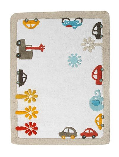 Rug WHITE LIGHT TWO COLOR/MULTICOL