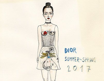 Dior _Spring summe 2017  Vera Lazzarini