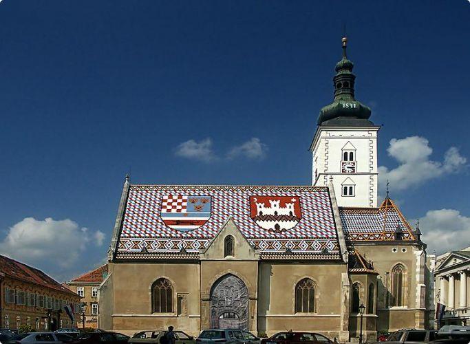 St Marks Church #zagreb #croatia #travel