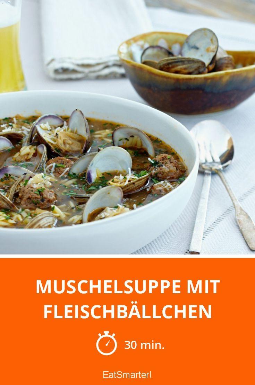 Muschelsuppe mit Fleischbällchen - smarter - Zeit: 30 Min. | eatsmarter.de
