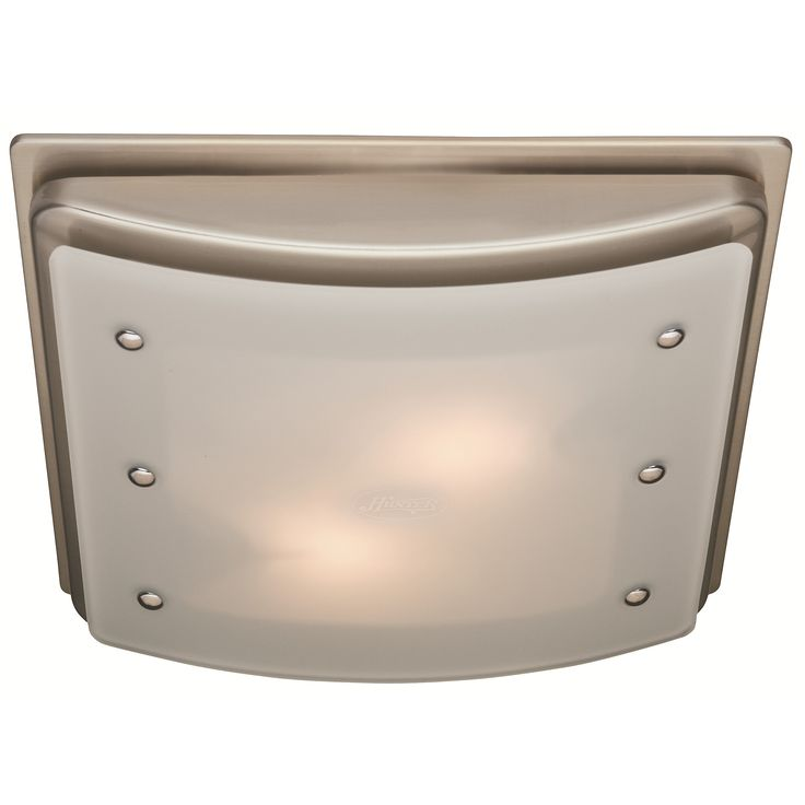Ecllipse 100 CFM Bathroom Fan W/ Light By Hunter Home Comfort $147