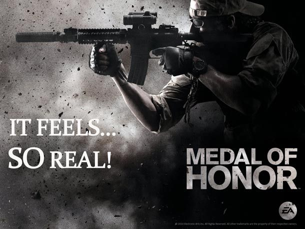 The same Navy Seal Team that took out Bin Laden consulted on the Medal of Honor game.