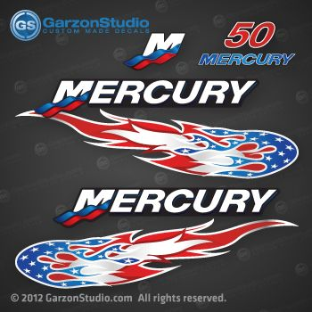 American mercury outboard on fire july 4th outfit