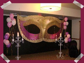 masquerade decorating ideas