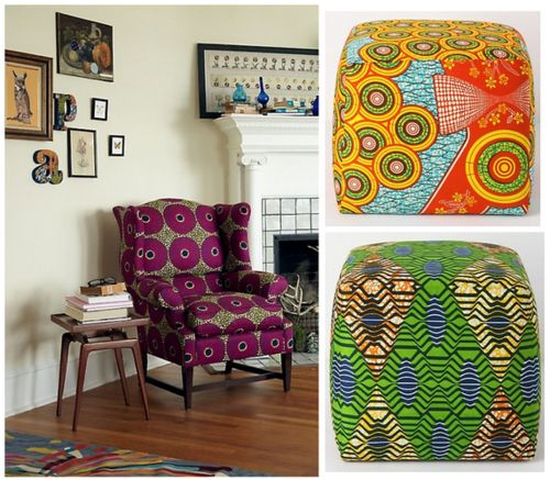 African Print Ankara Kitenge Decor Home Decor