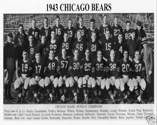 1943 Chicago Bears - NFL Champions