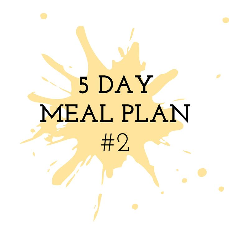5 Day Meal Plan #2 - Cooking in the Chaos. Thermomix Recipes