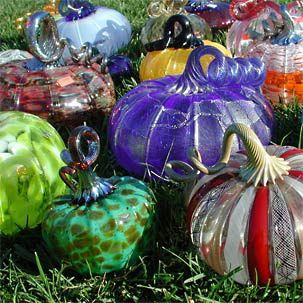 348 best glass pumpkins images on pinterest