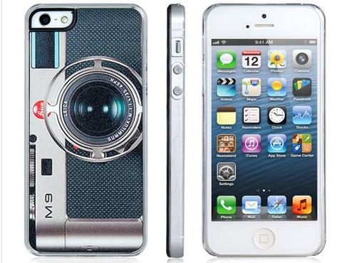 Şık ve farklı tasarımıyla iPhone 5'nize çok yakışacak kamera görünümlü koruyucu kapak!