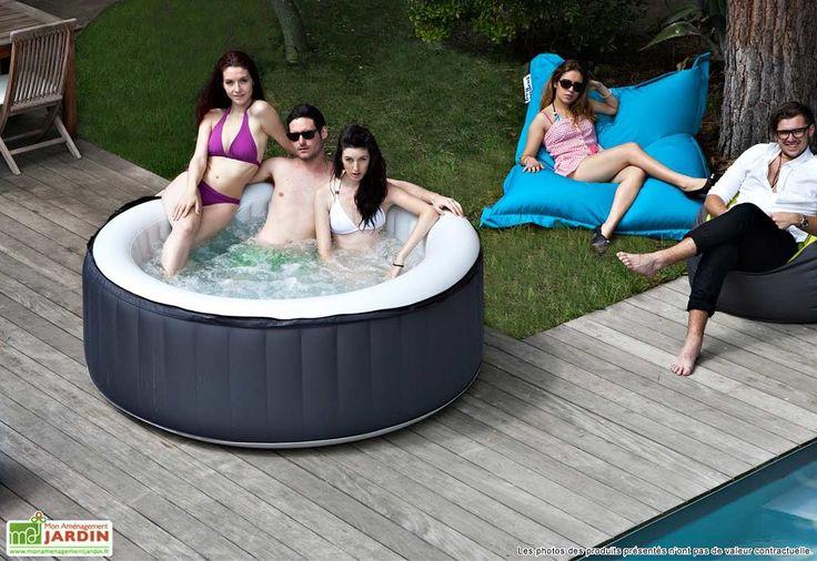jacuzzi gonflable ext rieur spark 4 places places jacuzzi and spark 4. Black Bedroom Furniture Sets. Home Design Ideas