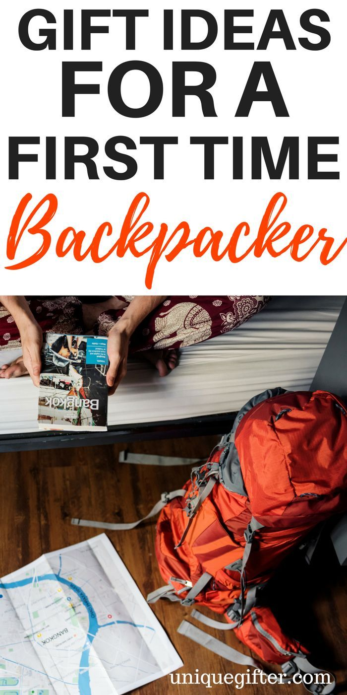 Gift Ideas For A First Time Backpacker