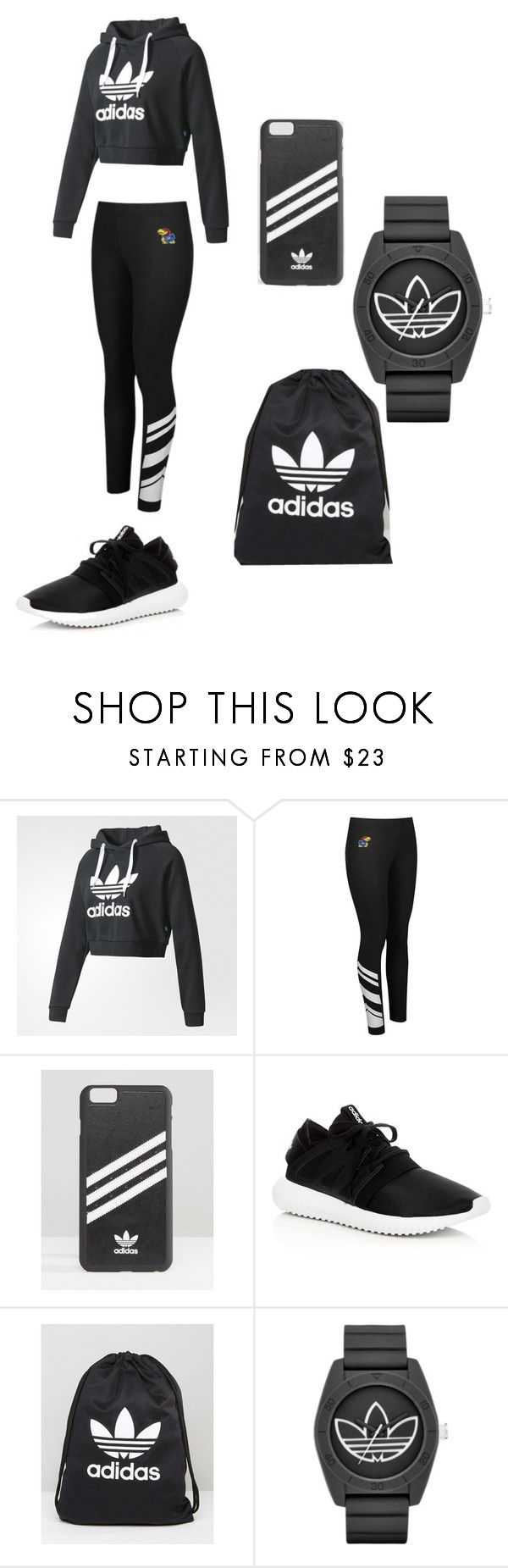 """""""Adidas"""" by wannabereal ❤ liked on Polyvore featuring adidas"""