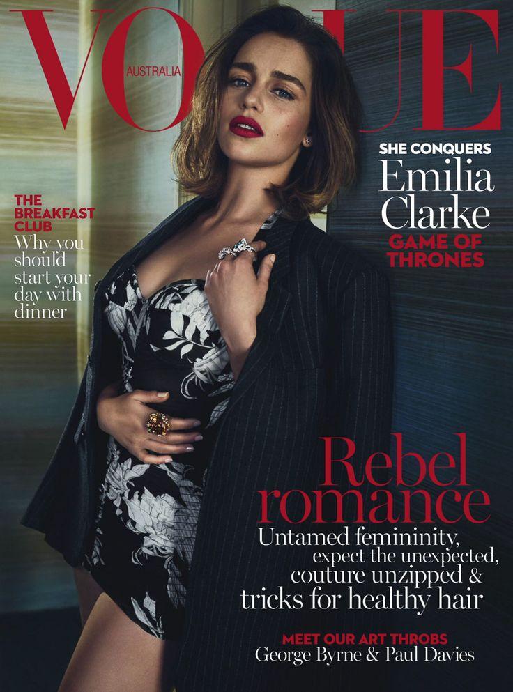 Vogue Australia May 2016 Emilia Clarke by Emma Summerton-1