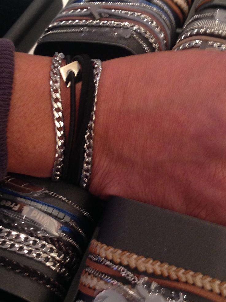 bracelets tendances hommes .