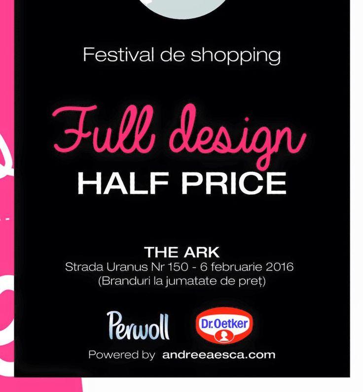 Ne pregătim pentru cel mai popular târg de fashion. Half is Free, prima ediție din acest an, pe 6 februarie, la The Ark! #HalfIsFree, #Fashion, #Sales, #AndreeaEsca