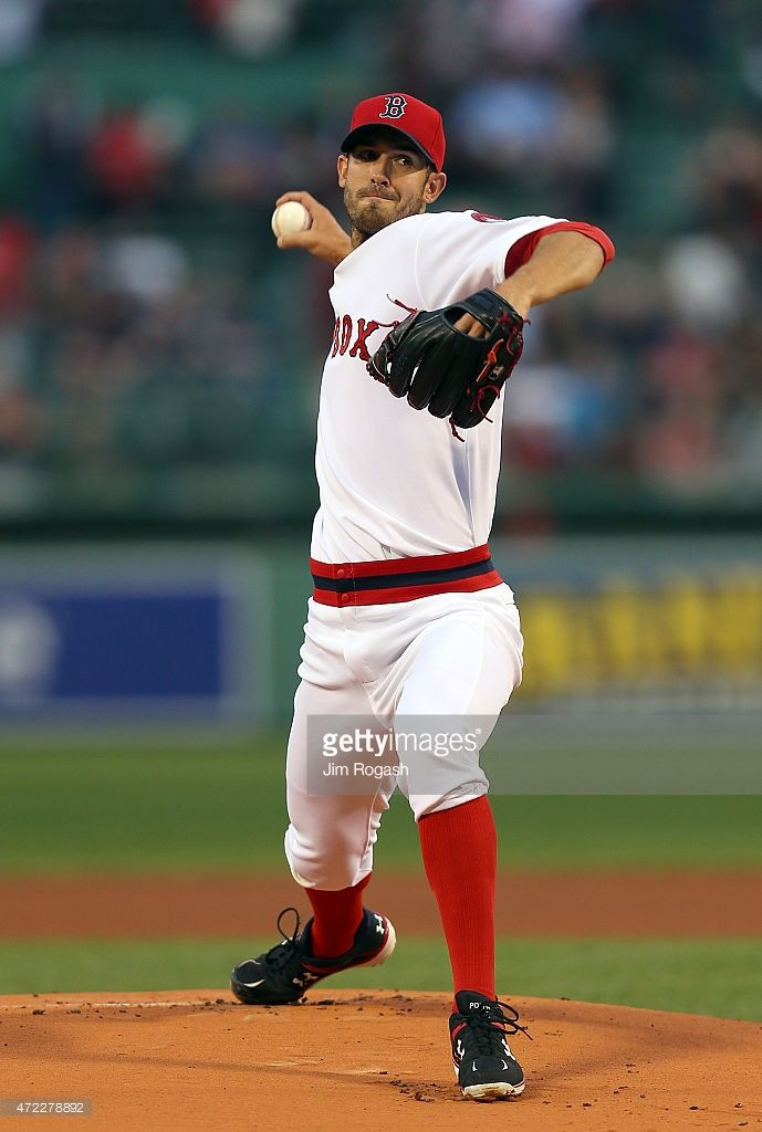 new products fb28d b1db0 Rick Porcello of the Boston Red Sox, wearing a 1975 era ...
