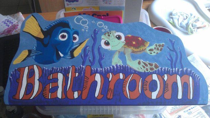 9 best finding nemo bathroom images on pinterest kid for Finding nemo bathroom ideas