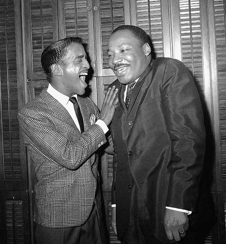 Sammy Davis Jr. & Martin Luther King Jr.
