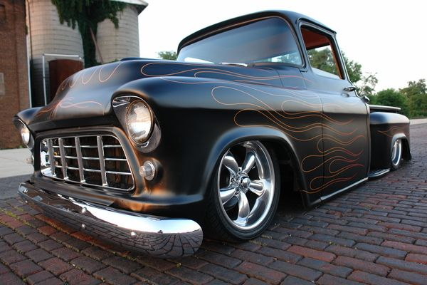 55 Chevy Truck Big Window (Street Rat)