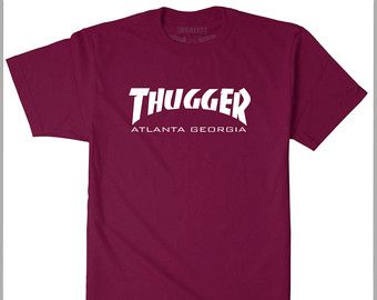 Thugger  T shirt Young Thug Savage Life Lit Hip Hop