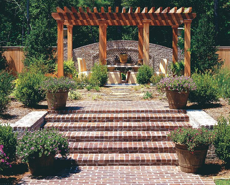 Turn Your Outdoor Space Into A Gorgeous Getaway. Brick