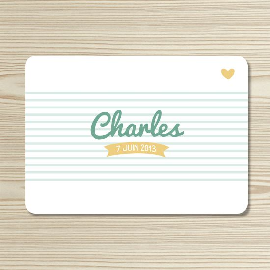 Tannilou - Faire-part naissance CHARLES