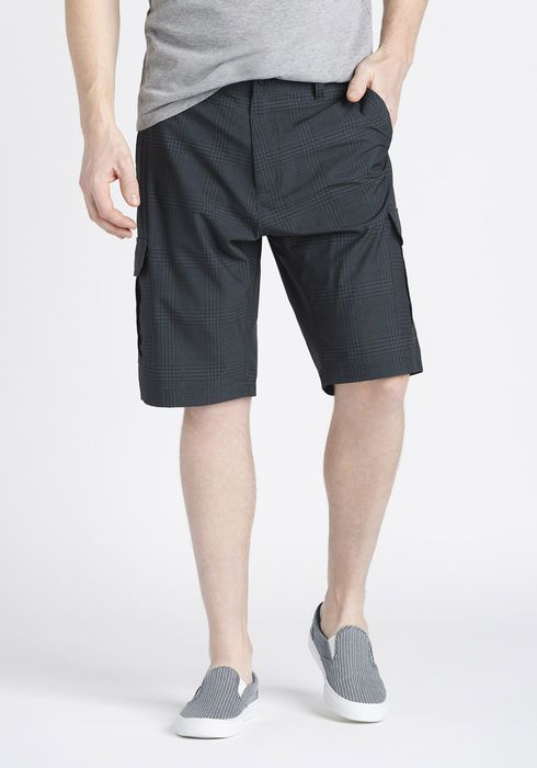 HYBRID CARGO SHORT IN GREY