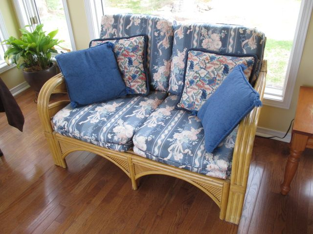 RATTAN COUCH Content sale from pleasant Kanata South home – 27 Brandy Creek Crescent, Ottawa ON. Sale will take place Saturday, May 9th 2015, from 9am to 2pm. Visit www.sellmystuffcanada.com to view photos of all available items!