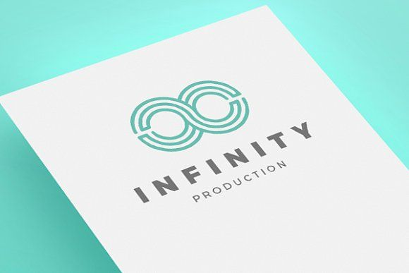 Infinity Logo by Graphic Factory Team on @creativemarket