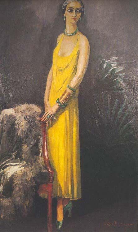 La Commodore Douilly, 1926 by Kees van Dongen, (1877- 1968) Dutch Painter http://www.liceolocarno.ch/Liceo_di_Locarno/materie/storia_arte/van_dongen/catalogo_opere/rubriche/donne.htm