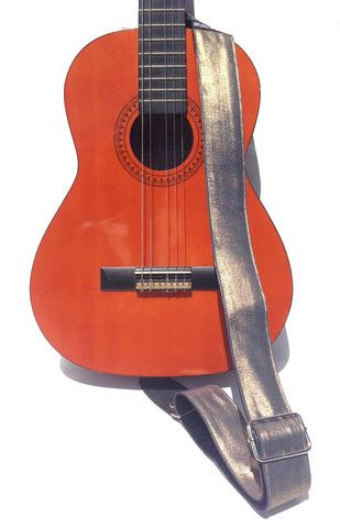 Denim Gold Kids Guitar Strap