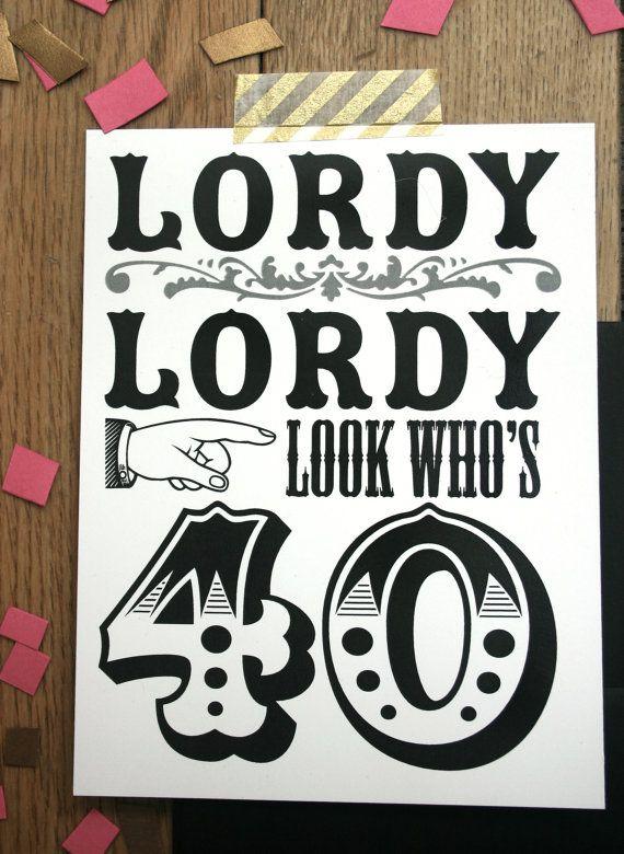 Custom 40th Birthday party invitations by thunderpeep on Etsy                                                                                                                                                                                 More