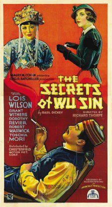 Tetsu Komai and Lois Wilson in The Secrets of Wu Sin (1932)