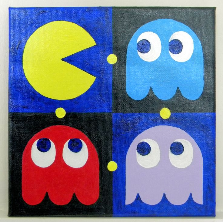 Awesome Pacman canvas!