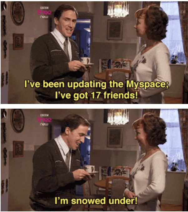 """When Bryn caught on to social media. 