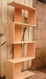 Resultado de imagen para libreros de pared                              …