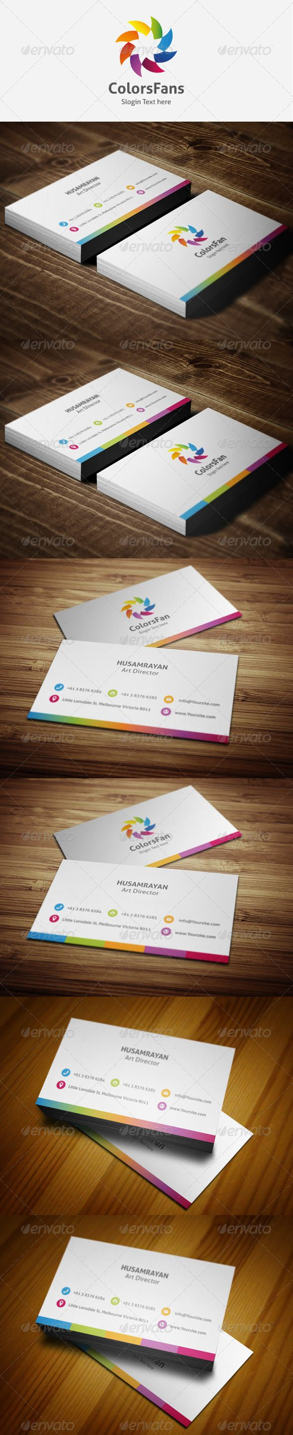 16 best simple business card mood board images on pinterest simple colorsfan business cards reheart Gallery
