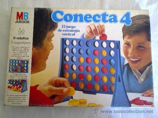CONECTA 4. MB JUEGOS. AÑOS 80.BUEN ESTADO. (Juguetes - Juegos - Juegos de Mesa)