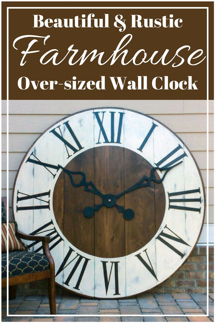 Best 25 giant wall clock ideas on pinterest huge clock big best 25 giant wall clock ideas on pinterest huge clock big clocks and huge wall clock amipublicfo Images