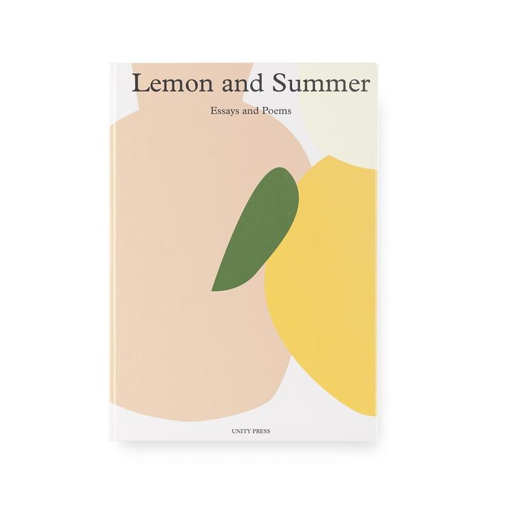 Lemon and Summer design by Jane Haemin Lee @booksartcoffeeplants