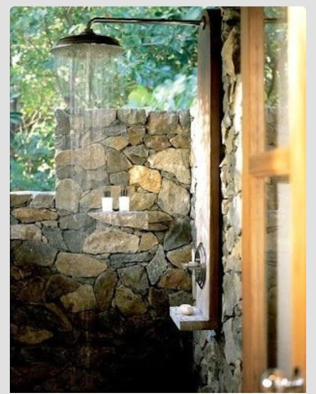 61 best Rustic Outdoor Bath/Shower Ideas images on ...