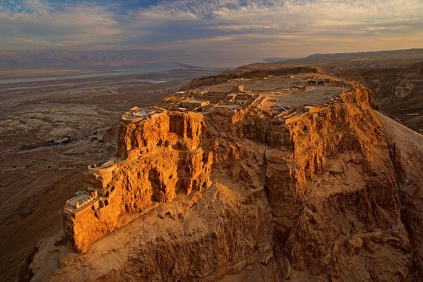 Masada, Isreal.  This is where thousands of Israelites committed suicide rather than allowing themselves to be killed by the Romans.
