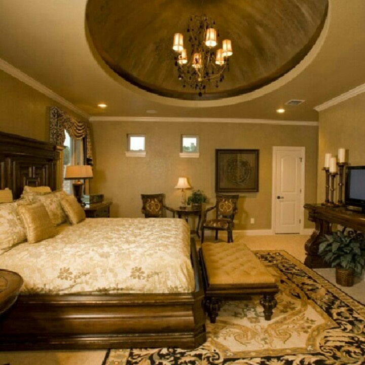 Beautiful Bedrooms With Round Beds: Beautiful Master Bedroom