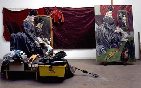 Paula Rego's work and studio