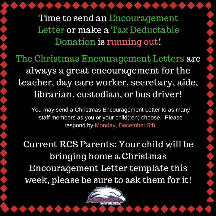 176 best RCS News images on Pinterest Christian school, News and - encouragement letter template