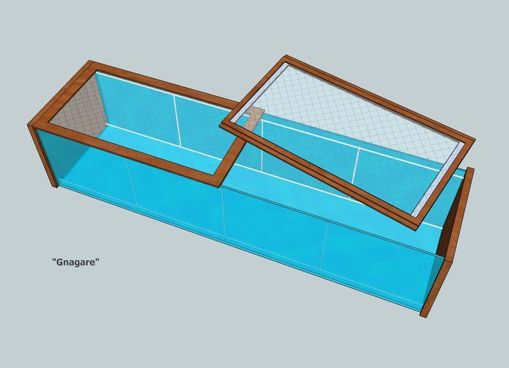 gitter abdeckungen hamster kleintiere f r ikea vitrine detolf k fige pinterest hamster. Black Bedroom Furniture Sets. Home Design Ideas