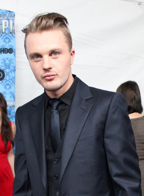 Michael Pitt again. It's one of those styles that can heighten an amazing face, much as a pixie cut on a woman will put her face front and center. It seems to have the most impact when worn with classic tailoring. It's subversive and outside of trend. But we'll see as the boys flock to the barbers.
